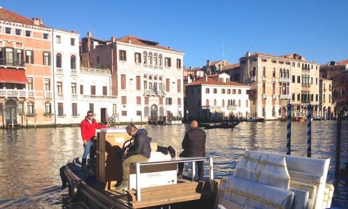 Fermeture de l'exposition Clavé à la Biennale de Venise