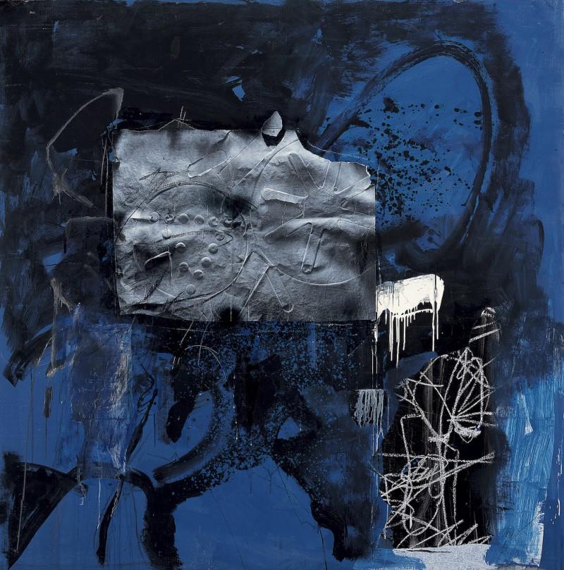 En bleu et noir - Antoni Clavé