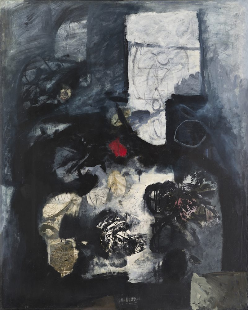 Empreinte de feuilles - Antoni Clavé