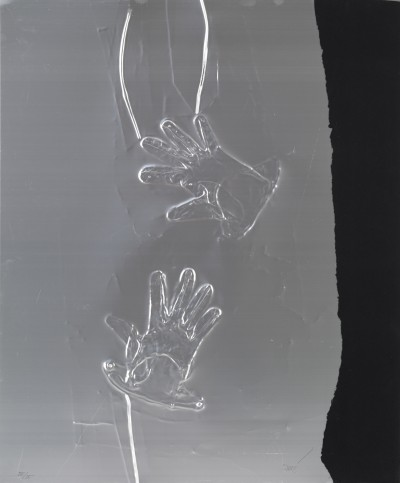 Gants et bande noire - Antoni Clavé