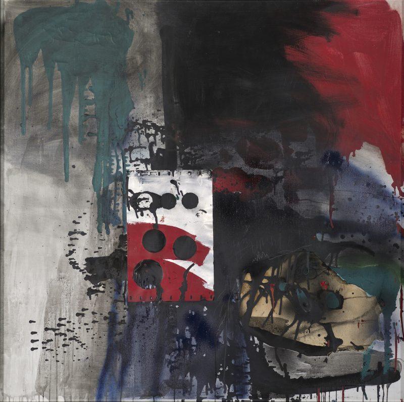 Peinture et plaque d'aluminium - Antoni Clavé