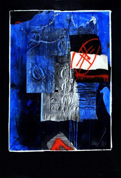 Sans titre – Affiche pour l'IRCAM - Antoni Clavé