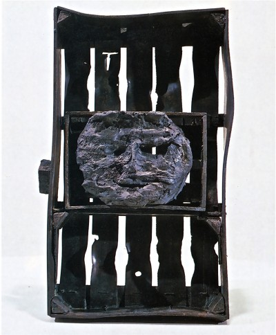 Masque au cageot - Antoni Clavé