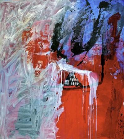 Rouge et bleu - Antoni Clavé
