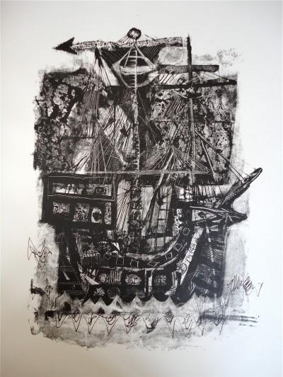 Suite en noir pour «Gargantua» - Antoni Clavé
