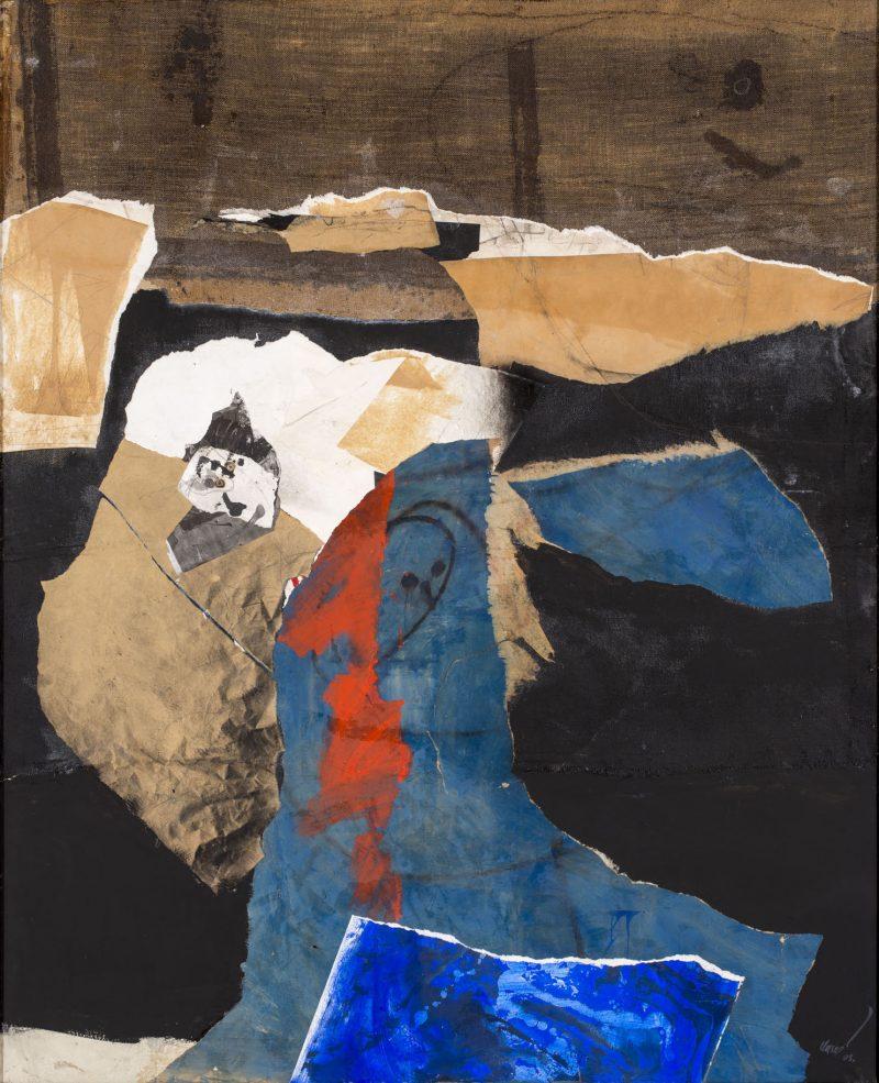 Grand collage - Antoni Clavé