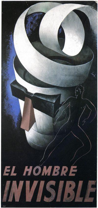 El Hombre invisible - Antoni Clavé