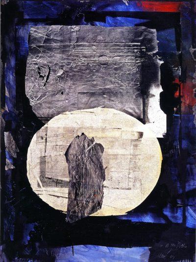 Ovale blanc - Antoni Clavé