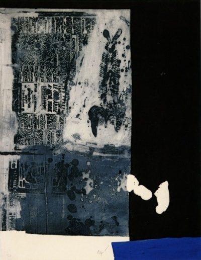Arête et flan de journal - Antoni Clavé