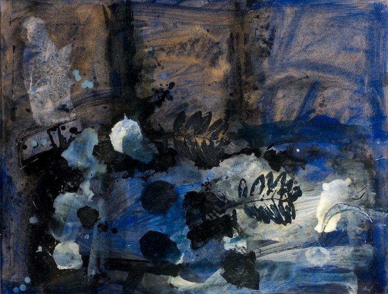 En noir et bleu - Antoni Clavé