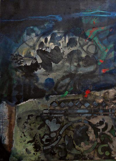 Feuilles et pochoirs - Antoni Clavé