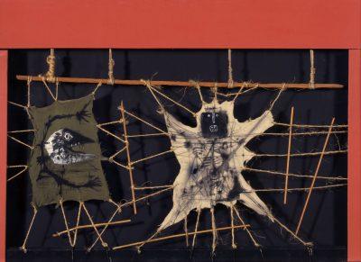 La Peur – Maquette pour le rideau du prologue - Antoni Clavé