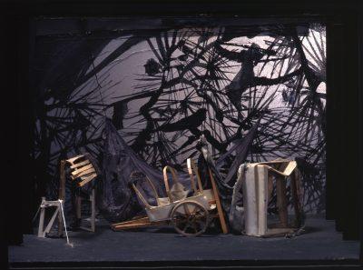 Revenge – Maquette pour l'acte III - Antoni Clavé