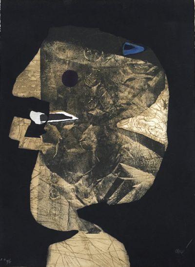 Lui en papier froissé - Antoni Clavé