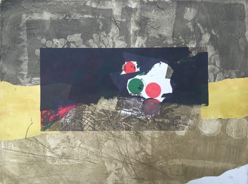 Points rouge et vert - Antoni Clavé