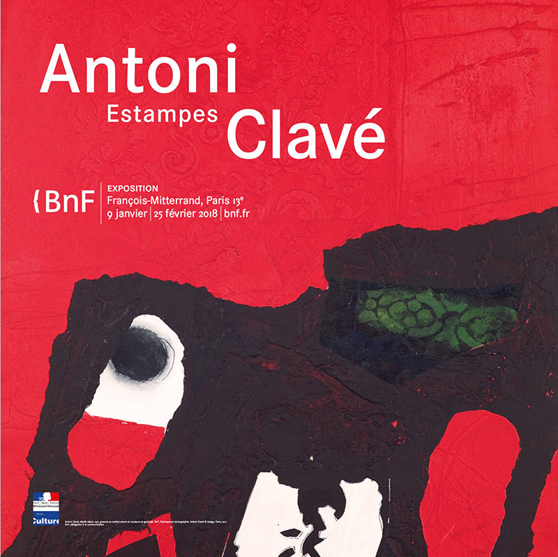 Antoni Clavé at the Bibliothèque nationale de France