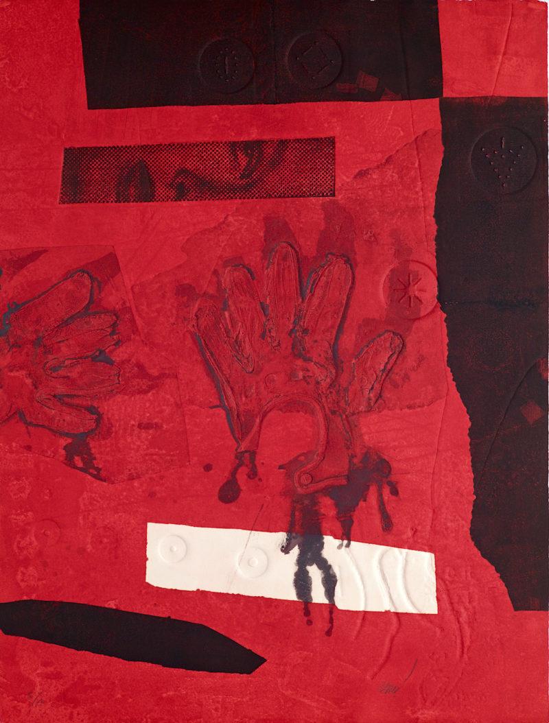 Rouge, noir et blanc - Antoni Clavé