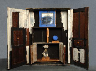 armoire aux objets - Antoni Clavé
