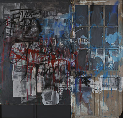 Une porte à New York - Antoni Clavé