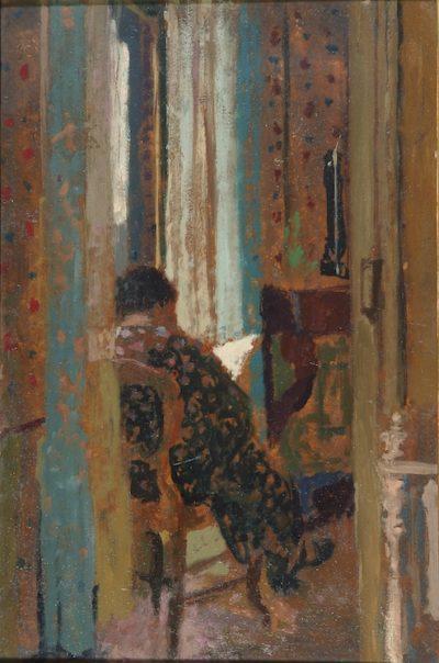 Femme dans un intérieur - Antoni Clavé