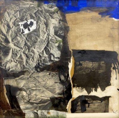 Homme en papier froissé - Antoni Clavé